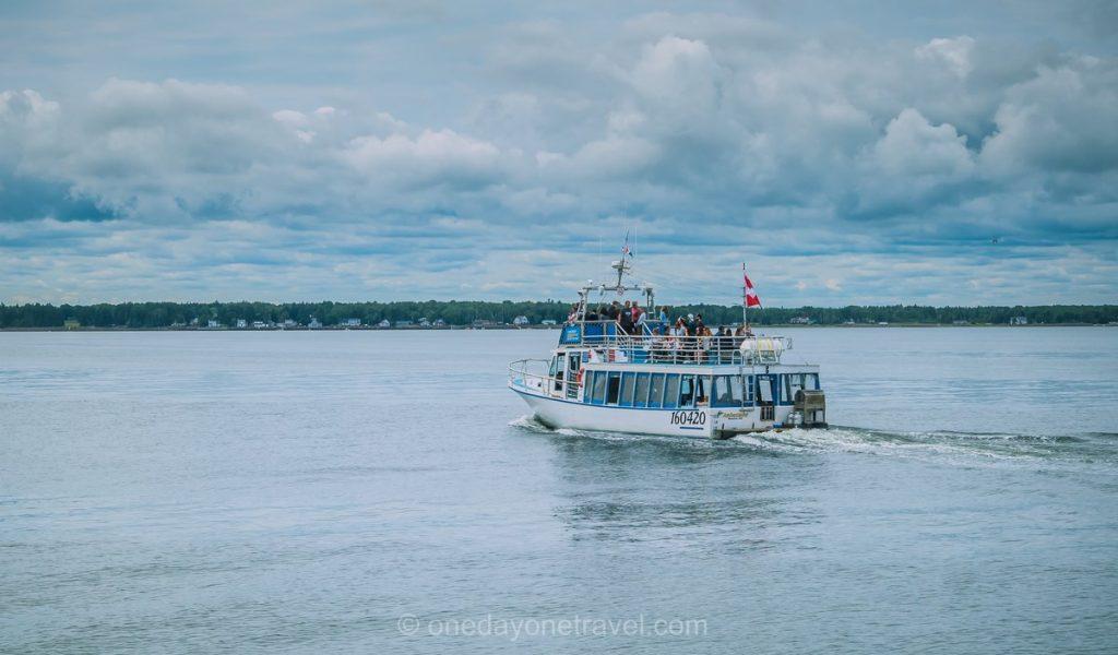 Shediac Nouveau Brunswick Canada bateau