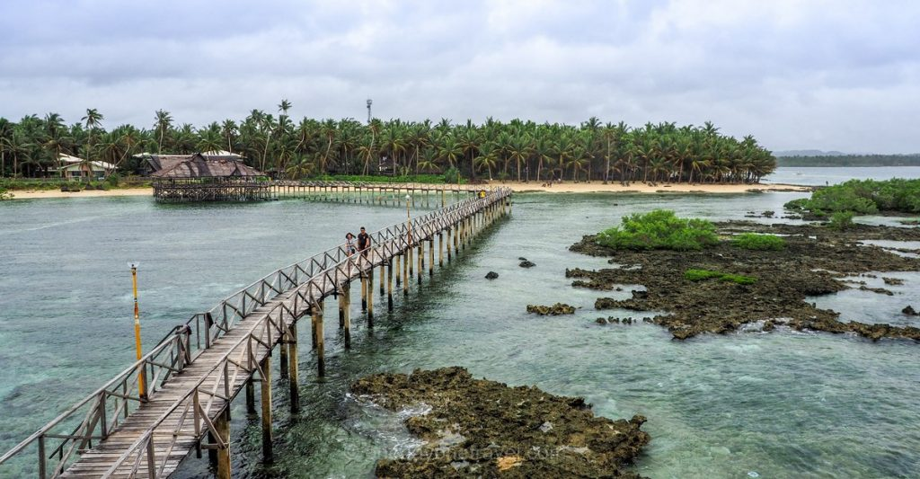 Siargao blog voyage ponton Philippines