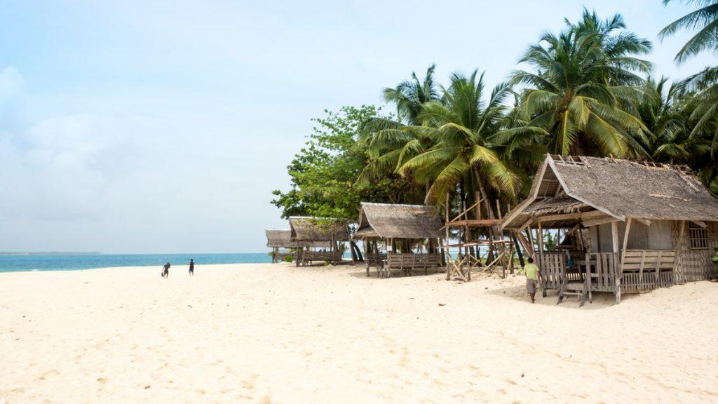 Siargao blog voyage Daku plage