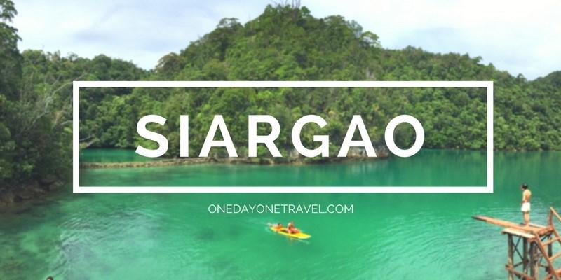 Siargao blog voyage Philippines ile