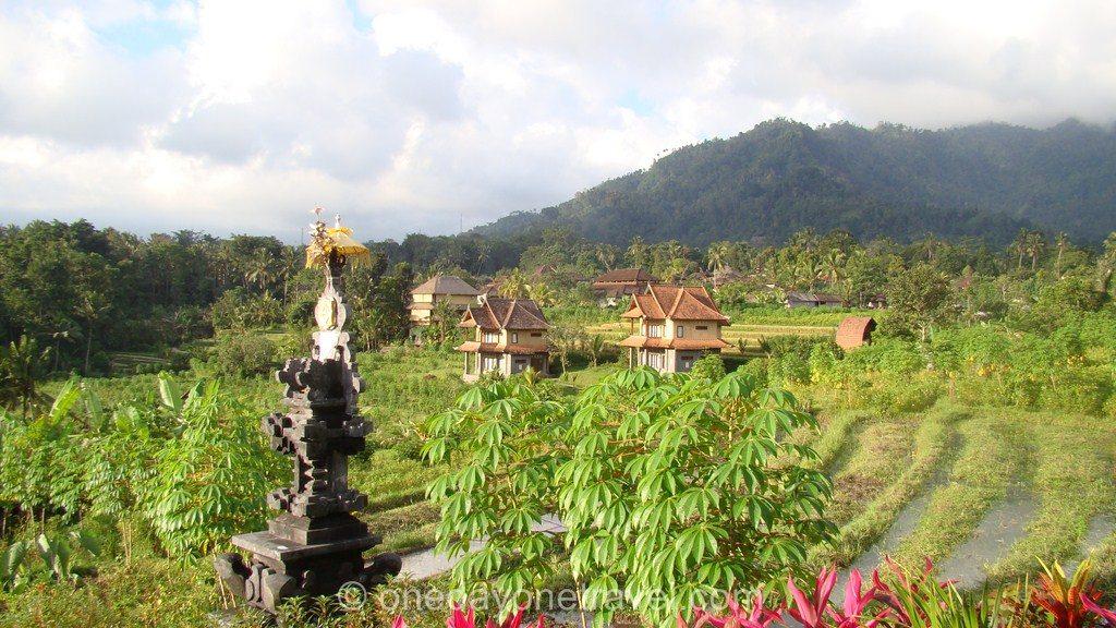 Sidemen rizière Agung Bali blog voyage