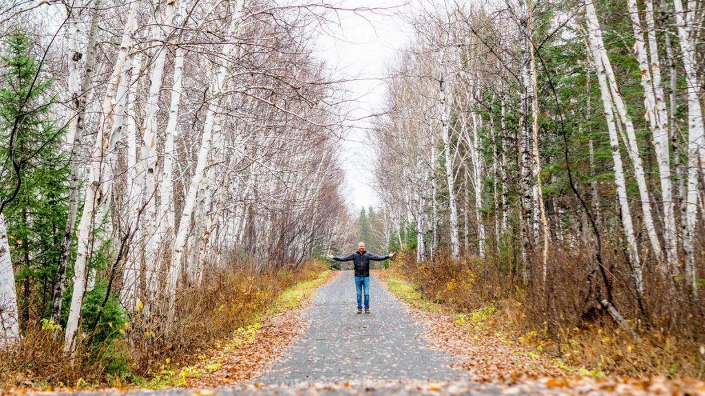 randonnée autour du lac saint-jean