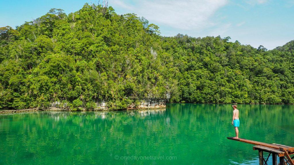 Sugba lagoon Richard Philippines