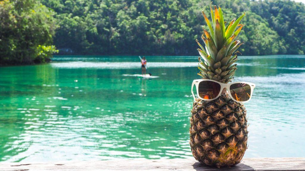 Sugba lagon Philippines ananas