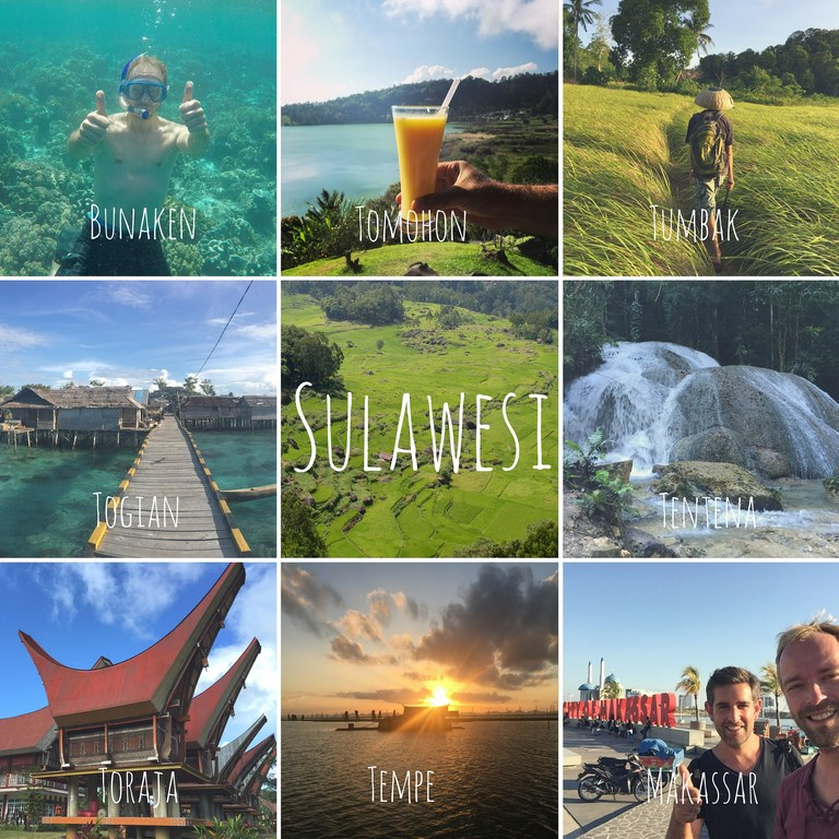 Sulawesi itineraire voyage Célèbes