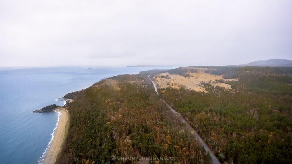 Tadoussac Dunes Québec drone