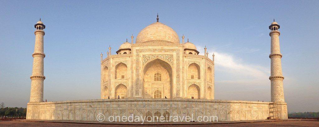 Taj Mahal cote blog voyage