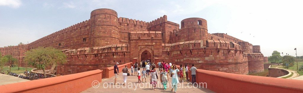 Taj Mahal fort agra entree blog voyage inde