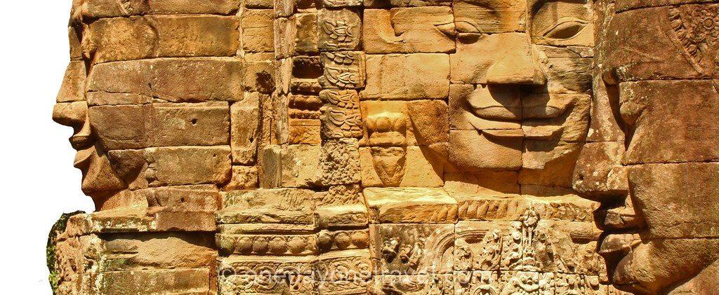 Temple Angkor - Bayon