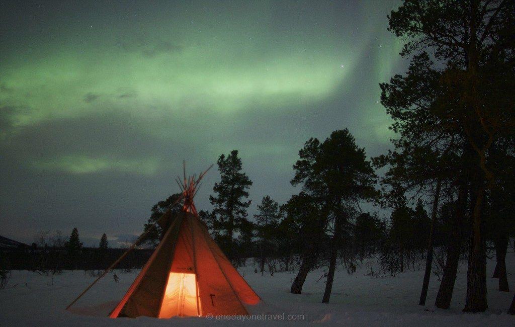 Top Destination Voyage Février Laponie Suédoise Aurore