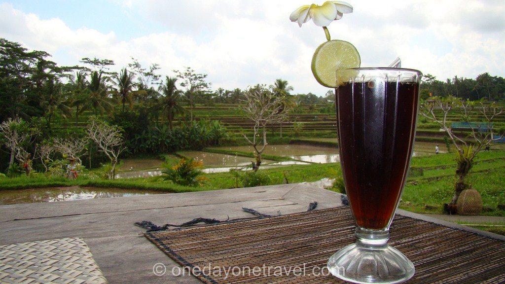Où boire un verre dans les rizières à Ubud Bali