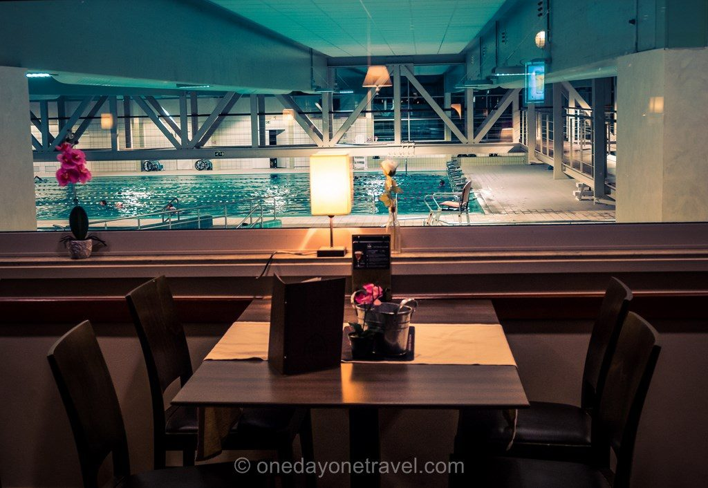 Restaurant piscine