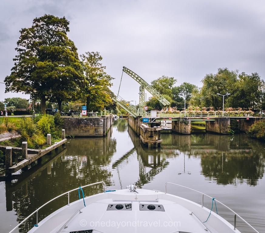 permis sans bateau écluse Flandre