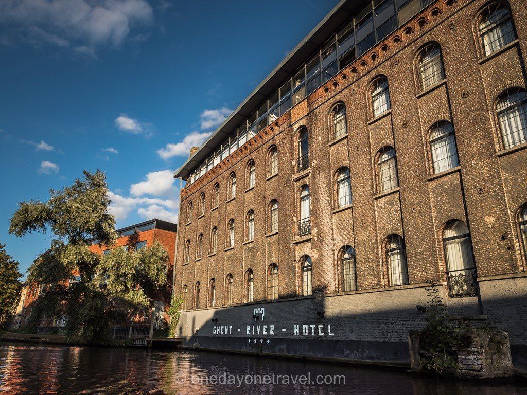 Hotel Ghent River depuis le Canal