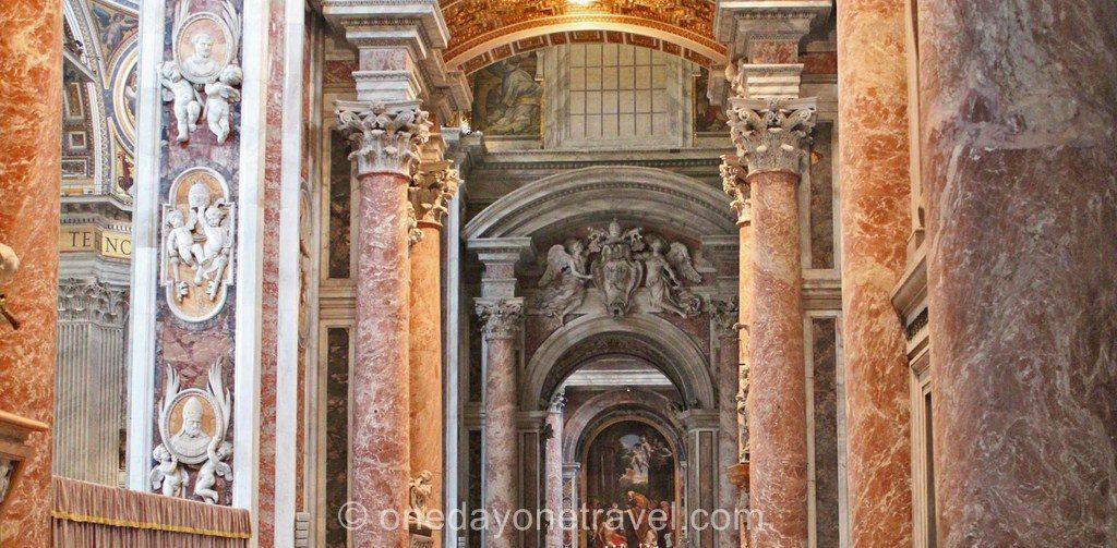 Visite du Vatican Eglise St-Pierre