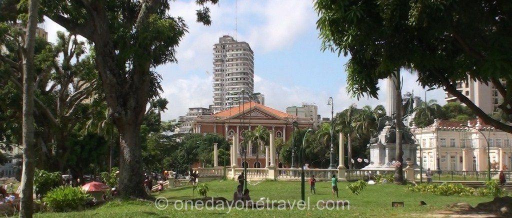 Visite guidée Belem Brésil plaça de republica