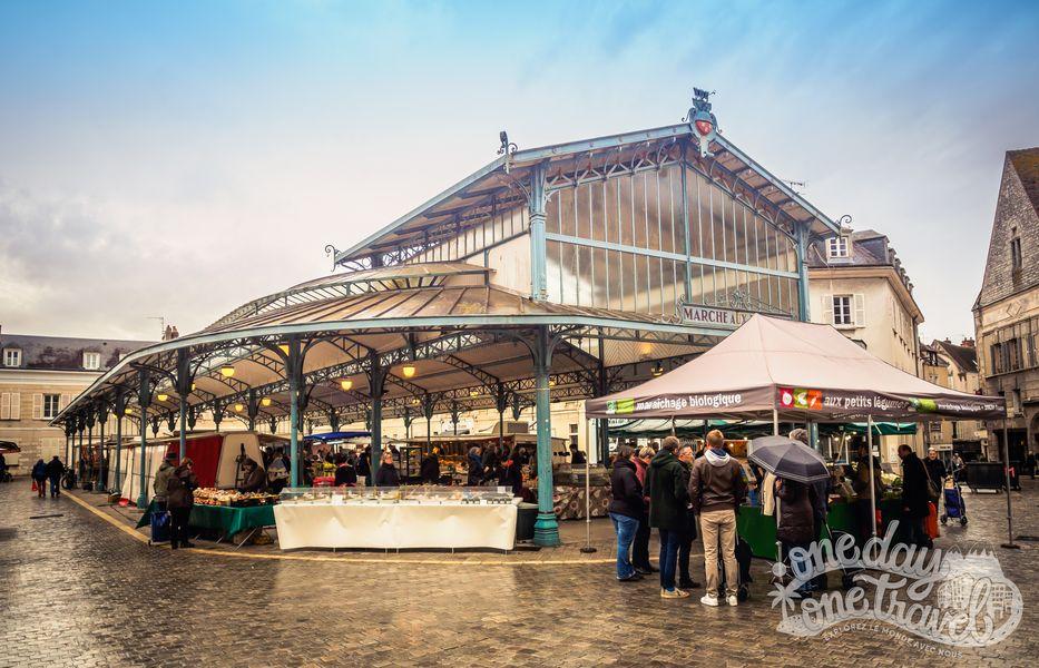 Visiter Chartres marché couvert