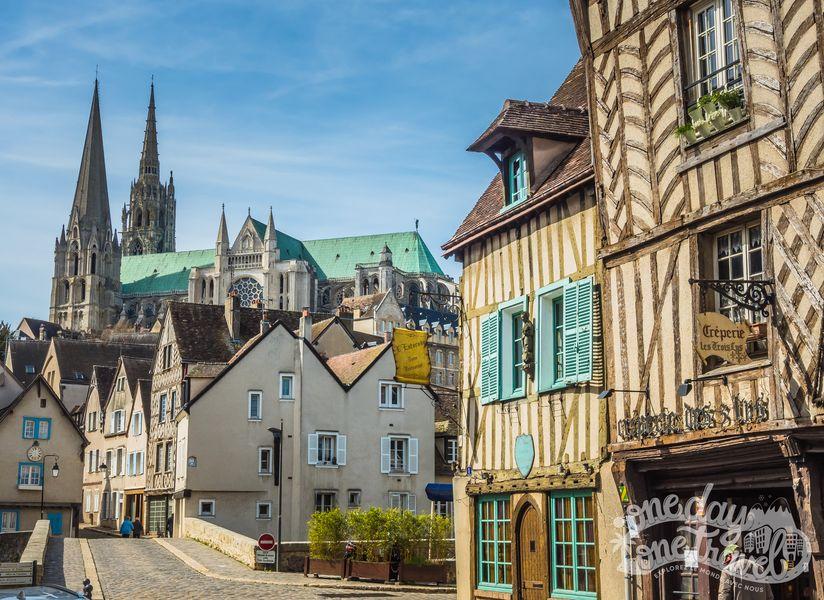 Visiter Chartres vieux centre