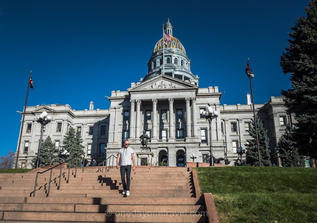Visiter Denver Capitole escalier Richard