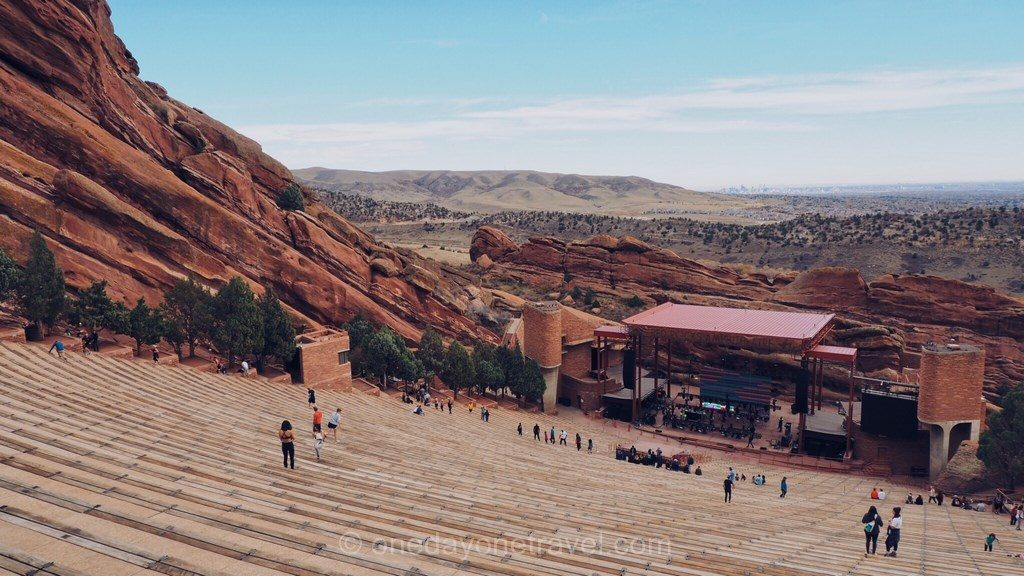Visiter Denver Red Rocks