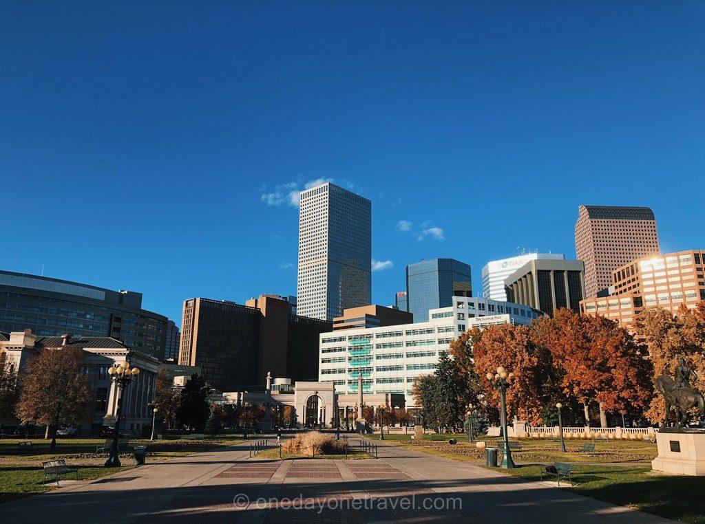 Visiter Denver blog voyage