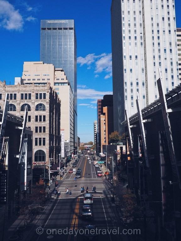 Visiter Denver rue blog voyage