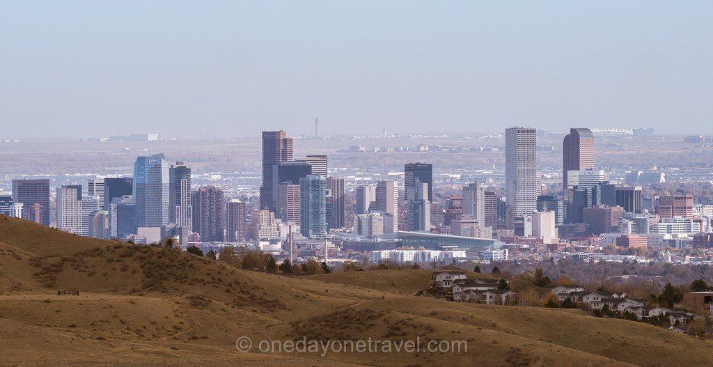 Visiter Denver vue centre ville