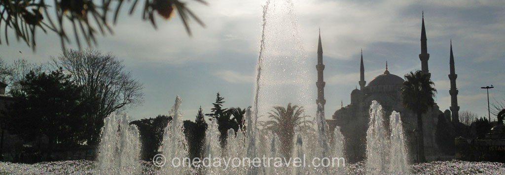 Visiter Istanbul  Mosquée Bleue