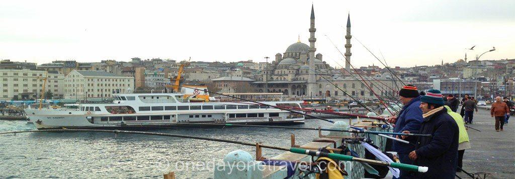 Visiter Istanbul  Pont Galata