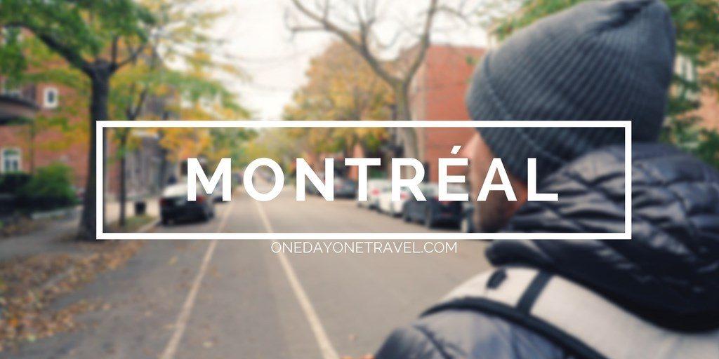 Visiter Montréal blog voyage québec canada