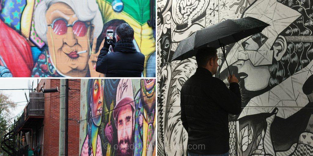 Visiter Montréal street art blog voyage