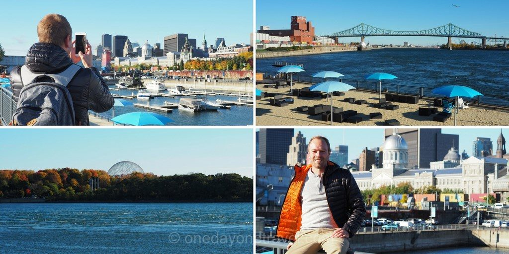 Visiter Montréal vieux port