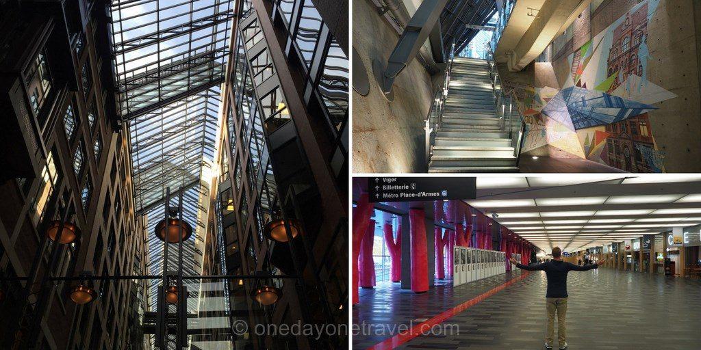 Visiter Montréal ville souterraine