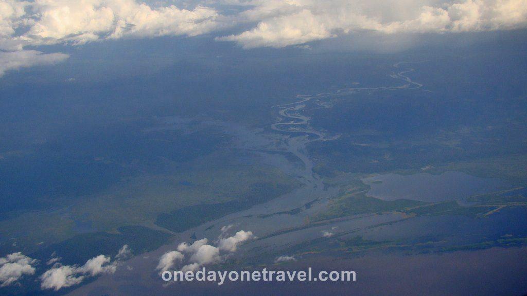 Vol Amazonie Santarem Belem Brésil Blog Voyage