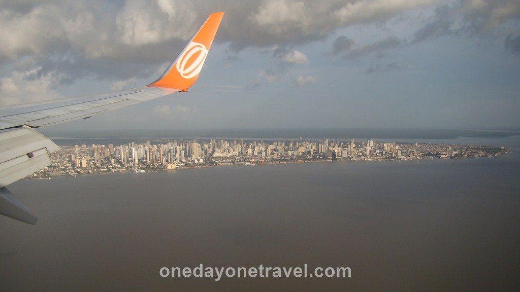 Vol Amazonie Santarem Belem Brésil Blog Voyage OneDayOneTravel