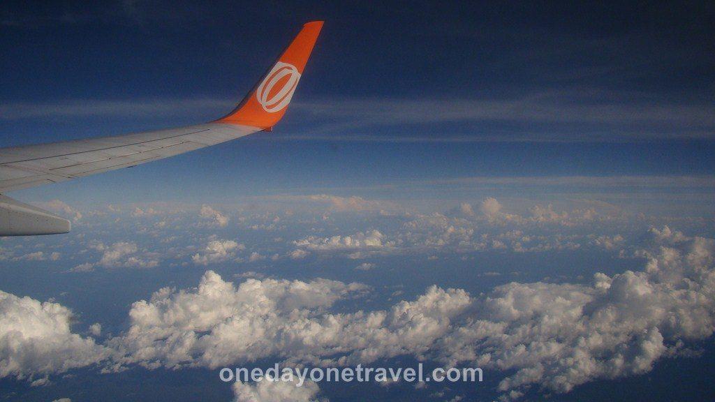 Vol Amazonie Santarem Belem Brésil nuage