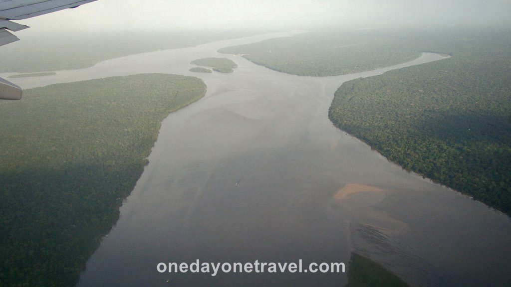 Vol Amazonie Survol Amazone Brésil Blog Voyage