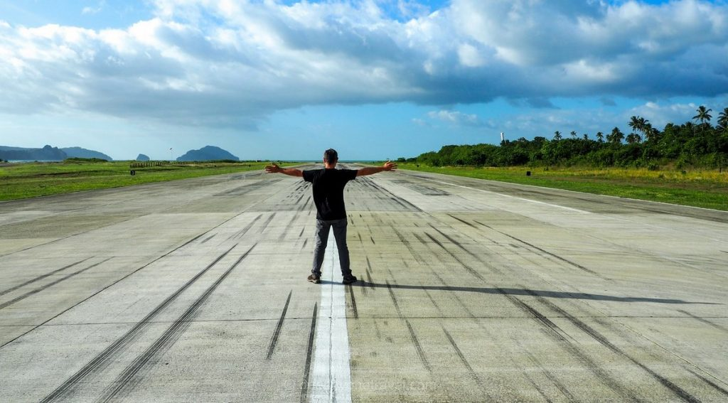 Aéroport El Nido Palawan Philippines tarmac Franck