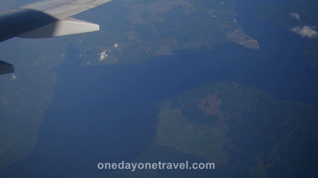Vol Santarem Belem Amazone Brésil Blog Voyage