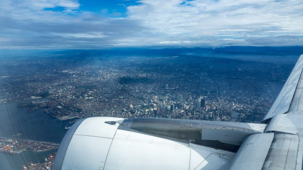 Survol Philippines avion