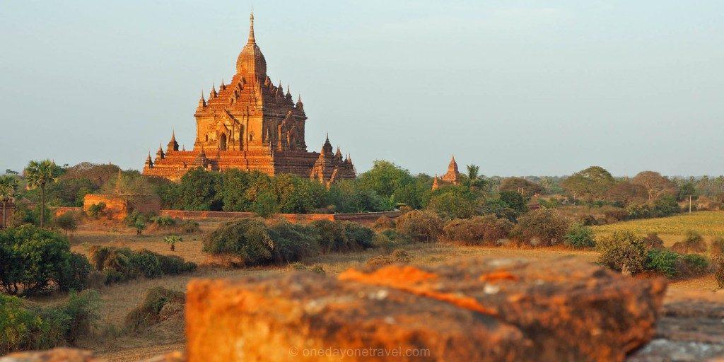 Voyage au Myanmar Bagan sunset