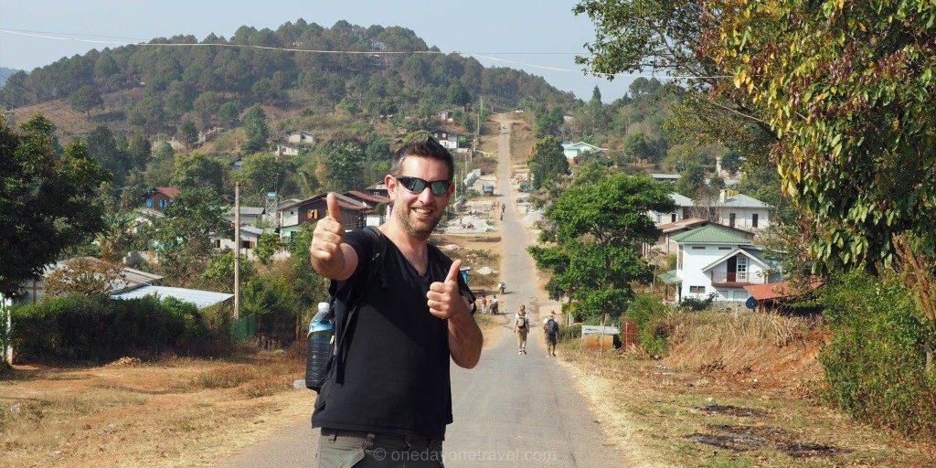 Voyage au Myanmar Kalaw Franck Trek