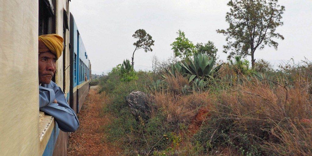Voyage au Myanmar Kalaw Train