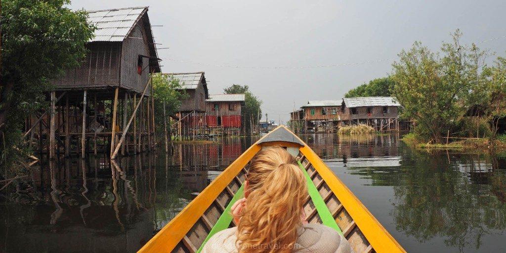 Voyage au Myanmar Lac Inle pirogue