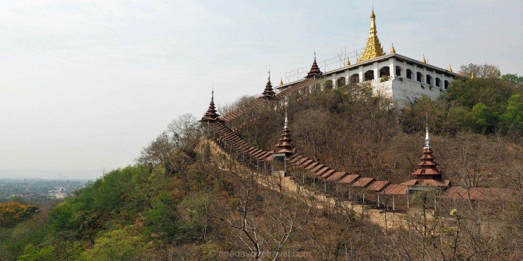 Voyage au Myanmar Mandalay colline