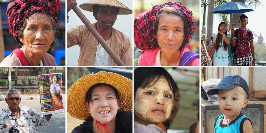 Voyage au Myanmar Portraits birmans