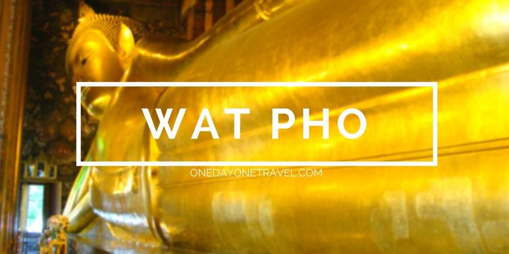 Wat Pho Bouddha blog voyage Thailande Bangkok