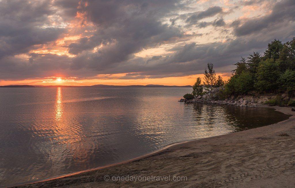 Windigo Laurentides sunset