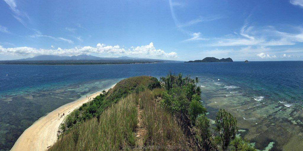 baie tumbak ile Sulawesi Célèbes