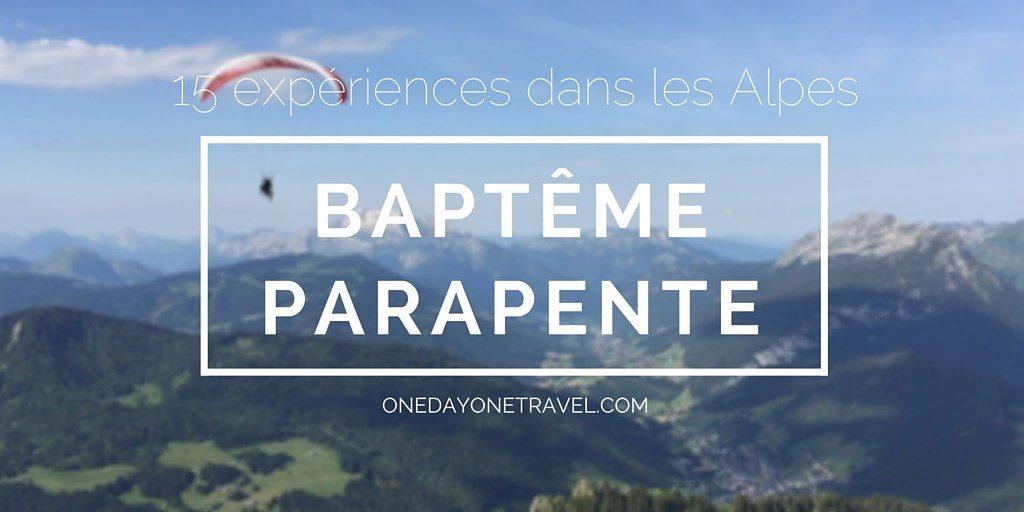 baptême parapente blog voyage